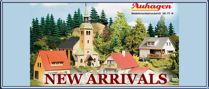 Auhagen New Arrivals for HO