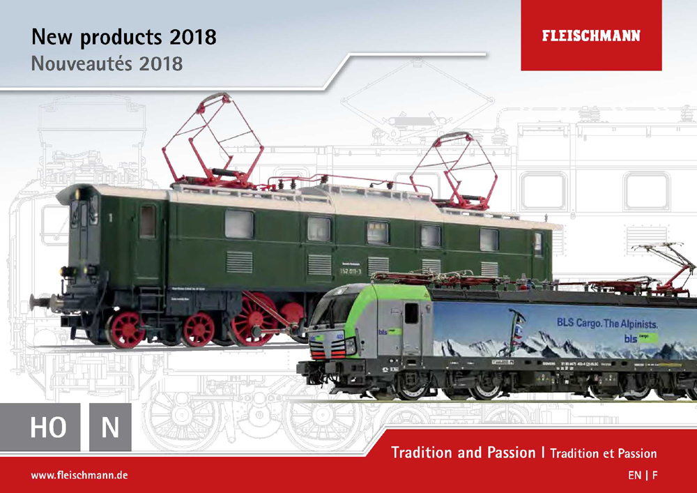 Fleischmann News 2018 for HO scale
