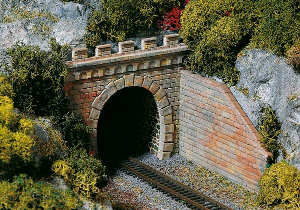 Auhagen Single Track Tunnel Portal Eurotrainhobby