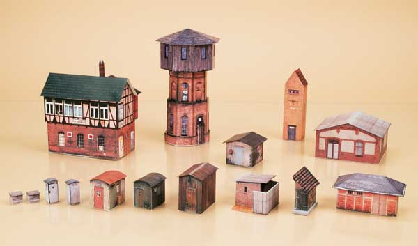 Water Tower Set (paper model)<br /><a href='images/pictures/Auhagen/13902.jpg' target='_blank'>Full size image</a>