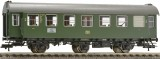 Passenger car 2nd class type B3yg761 with operating tail lights