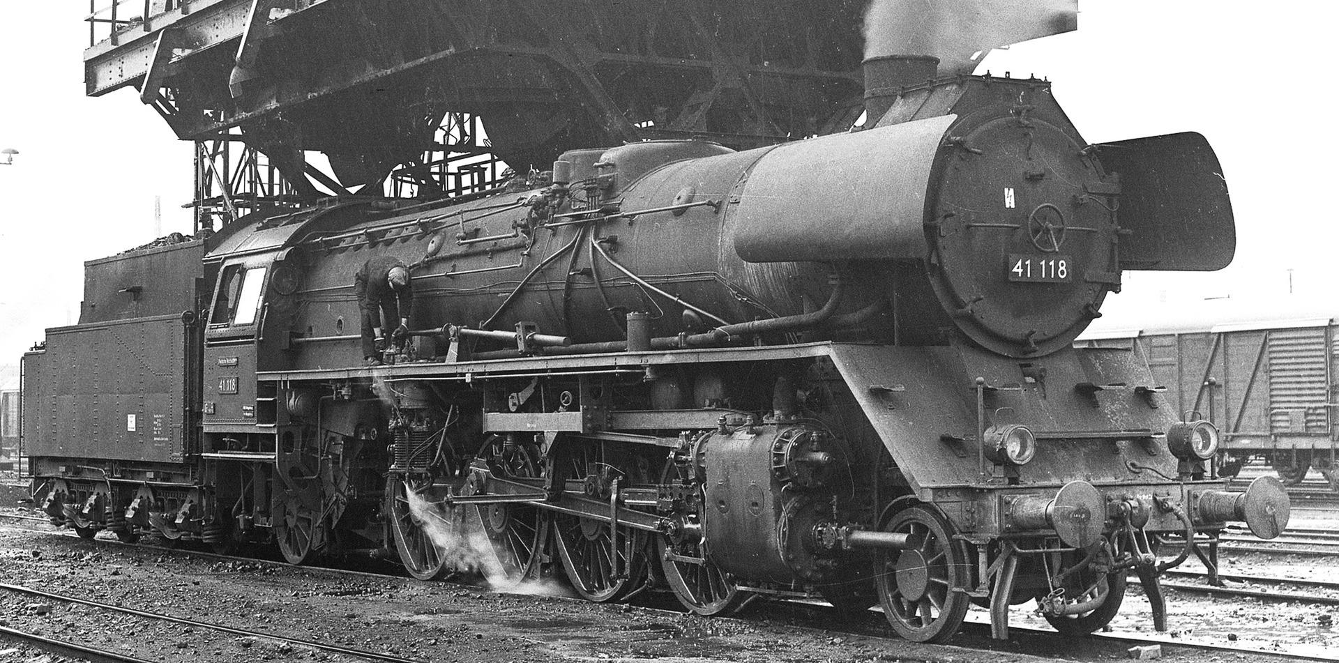 Fleischmann Steam Locomotive Br 41 With Reco Boiler