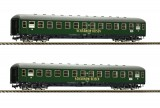 Set of 2 couchette cars type Bc4üm SCHARNOW-REISEN