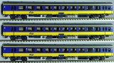 Set of 3 Passenger cars type ICRm 2nd class InterCity. Stam 5842