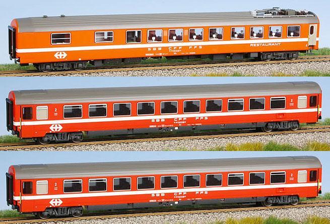 LS Models Set of 3 Passenger cars - EuroTrainHobby