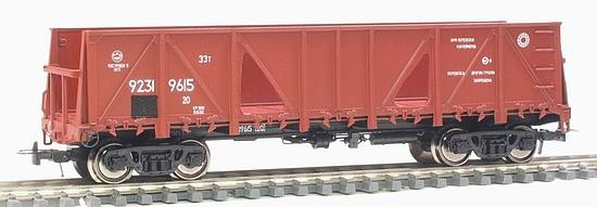 Container car 13-N001 brown<br /><a href='images/pictures/MiniaturModelle/090017.jpg' target='_blank'>Full size image</a>
