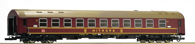 Passenger sleeping car type Y of Mitropa<br /><a href='images/pictures/Roco/161429.jpg' target='_blank'>Full size image</a>