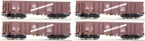 Set of 4 Gondola cars type Eas