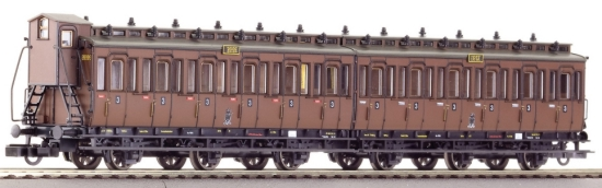 Pair of Compartment cars 3rd class<br /><a href='images/pictures/Roco/64068.jpg' target='_blank'>Full size image</a>