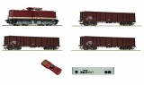 Digital Starter Set with Diesel locomotive BR 110 and Freight cars