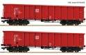 Set of 2 gondola cars type Eanos
