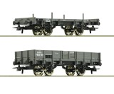 Set of 2 freight cars