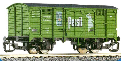 Box car with flat roof &quot;PERSIL&quot;<br /><a href='images/pictures/Tillig/14140.jpg' target='_blank'>Full size image</a>