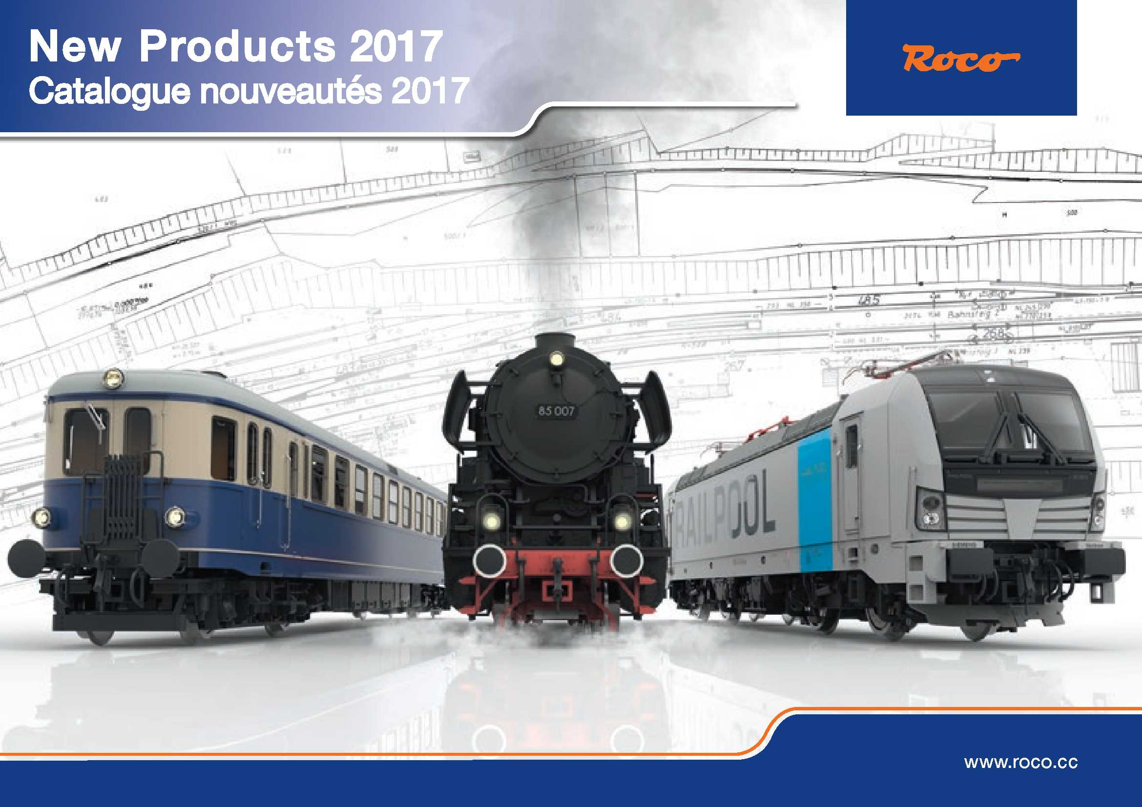 Roco News 2017 for HO scale